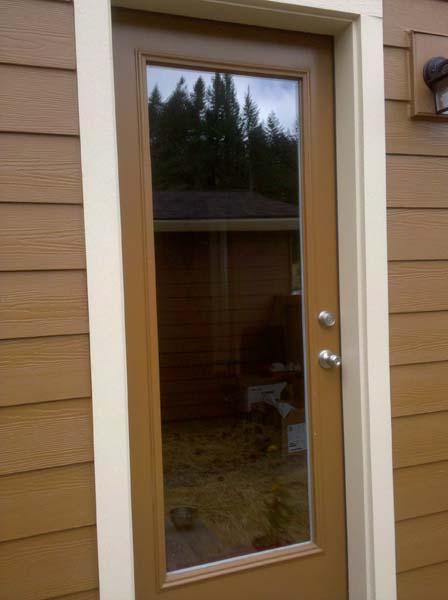 Before Pet Door Application